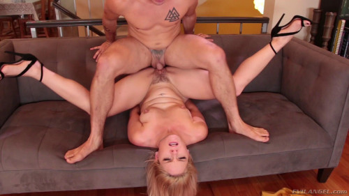 Slender Blonde Lisey Sweet Takes His Fat Cock