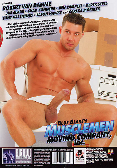 Musclemen Moving Company, Inc. - Robert Van Damme, Jim Slade Gay Retro