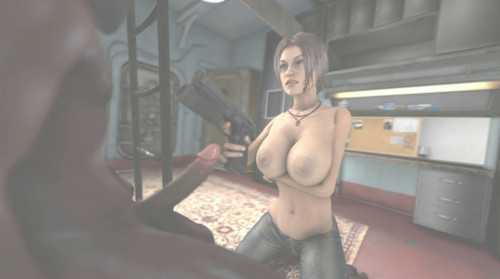 Lara And Pirate 3D Porno