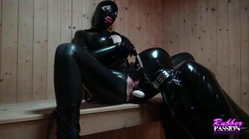 Hot Rubber Sauna Fun BDSM Latex