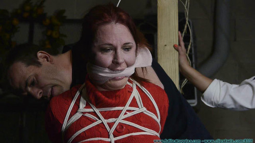 Security Guards tied and Gagged