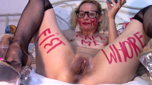 Hard bondage, domination and torture for very horny blonde