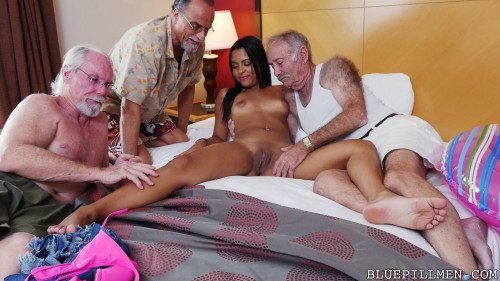 nikki kay staycation with a latin hottie Old and Young
