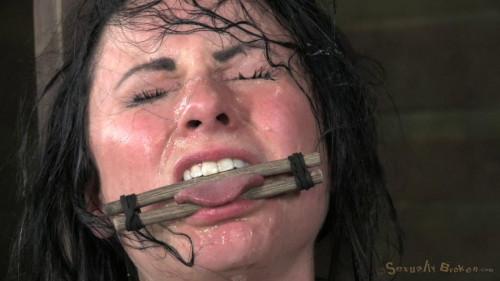 Pretty Veruca James utterly destroyed by brutal deep throat! (2014)