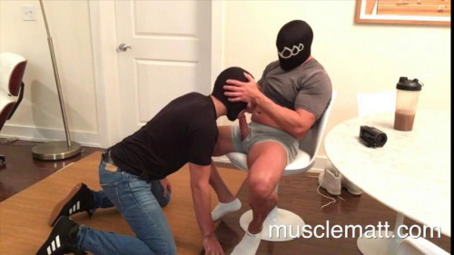 MuscleMatt part 188 Boss Fucks Ron Raw Twice