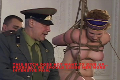 Russian Slaves Vol.88 - Punishment for hooch Part 2