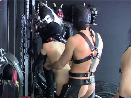 More Than One BDSM Latex