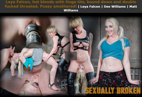 Sexuallybroken - Feb 13, 2017 - Leya Falcon, hot blonds with Huge tits