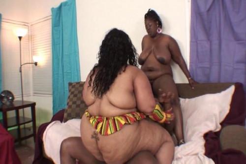 Fat Ebony Girls Sucking & Fucking
