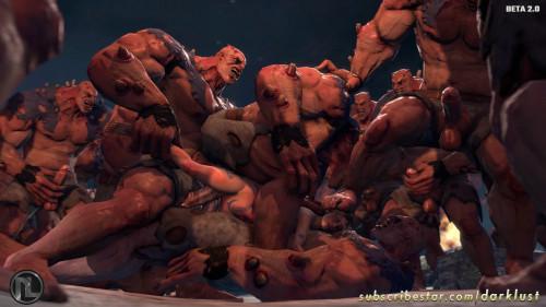 The Borders of the Tomb Raider Part 4 3D Porno