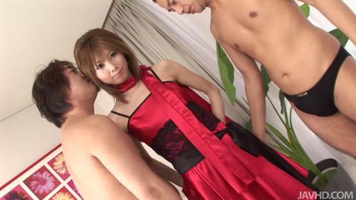 Rika Sakurai Takes Double Penetration – Blowjobs, Toys, Uncensored Full HD 1920p