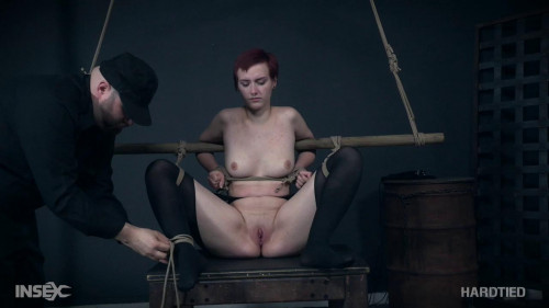 Kitty receives roped in to some raw suction