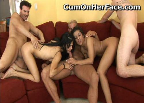Gang Bang & Facial Cum Shot Parties Only (2007-2011) Pack2