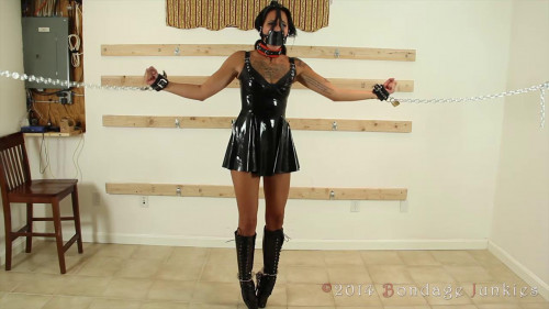The Bet - Amanda - HD 720p BDSM Latex