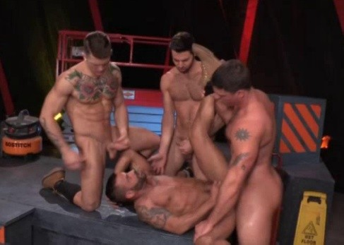 Cluster Gangbang Party