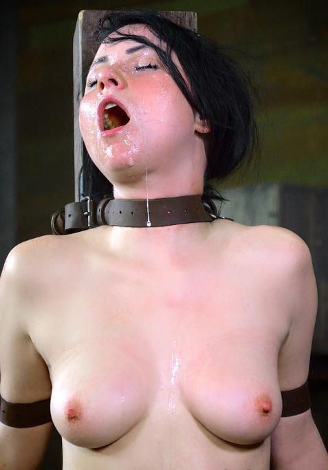Pretty Veruca James destroyed by brutal deep throat!