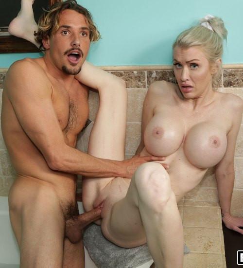 Katie Monroe - Stepmom Fulfills His Fantasy FullHD 1080p Blondes