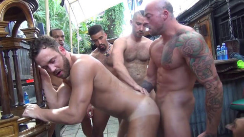 Logan Moore Gang Bang - Part 2 - 720p Gay Clips