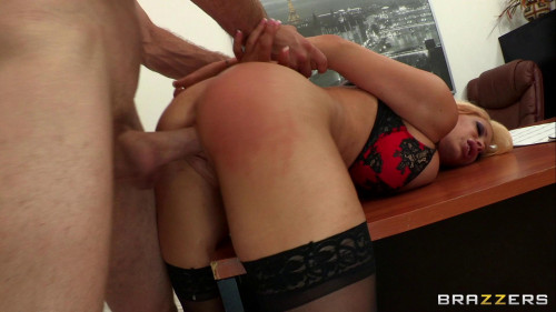 Punishing His Slutty Blonde Whore Of A Boss Anal