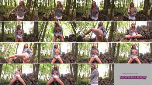 Wank In The Woods Masturbation