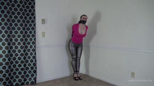 Serene Isley - Electrical Tape Breast Torture Bondage