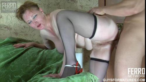 Mature woman insists on fucking herself BBW Sex