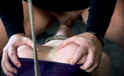 Brutally deep throated slave
