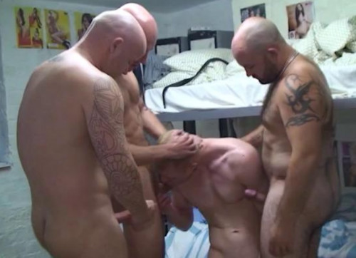 Extra orgy with jailhouse cocks