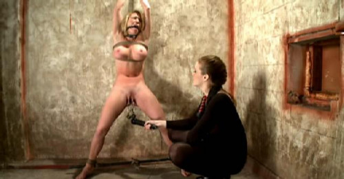Elegant BDSM punishment