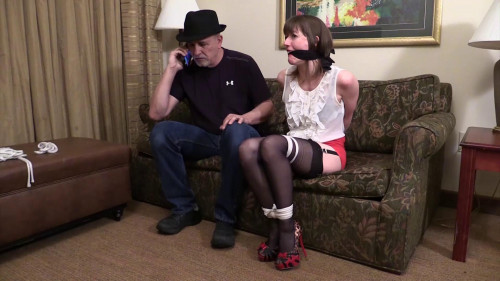 AJ Marion-All fun and games-Until he stuffed a gag in my mouth! BDSM