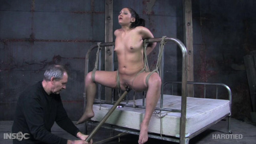 Torment on an steel sofa