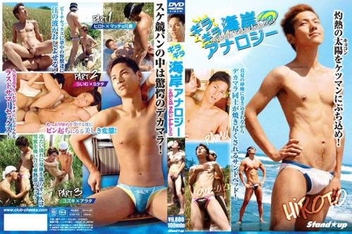 Glaring Beach Analogy Gay Asian