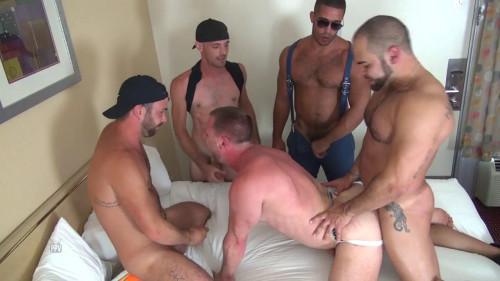 Raw Fuck Club - Hans Berlin Gets Gang Banged Gay Clips