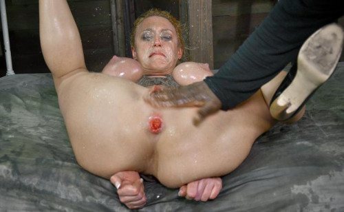 Darling is DPed and turned into a three hole slut, HD 720p