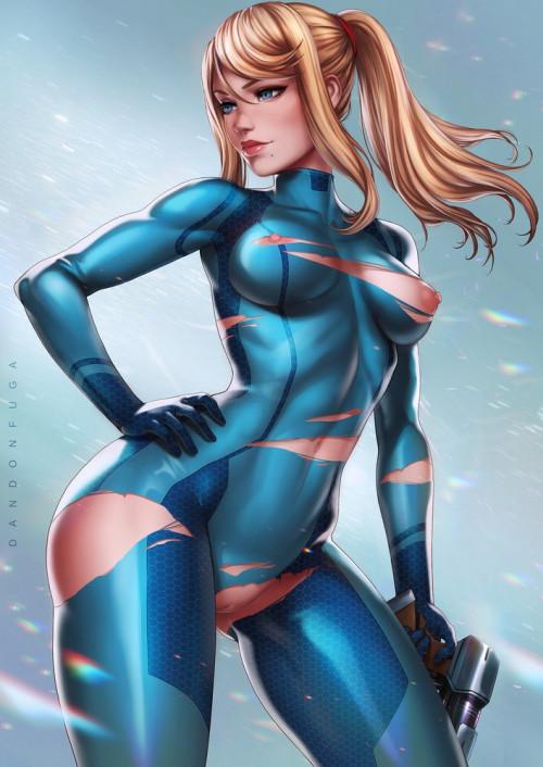 Samus Aran (Metroid) assembly 3D Porno