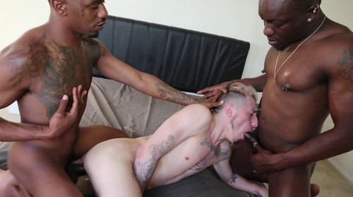 Bareback With Interracial Cocks