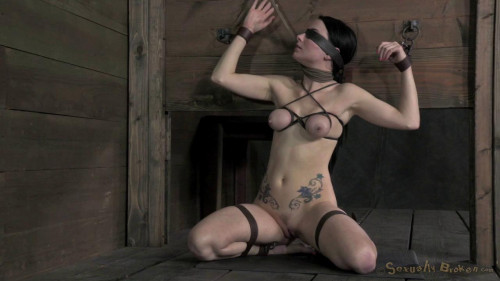 SexuallyBroken Veruca James shackled and chained, facesex