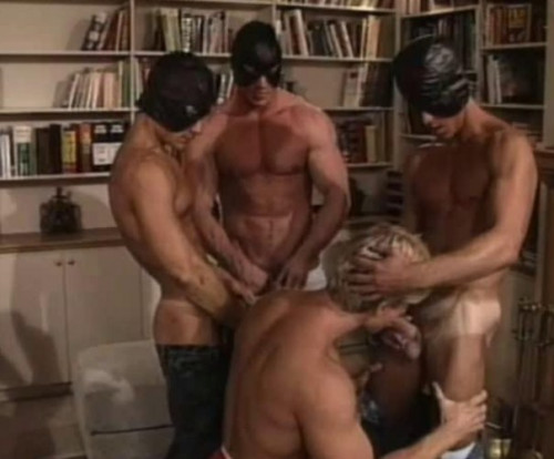 Butt busters in orgy Gay Retro