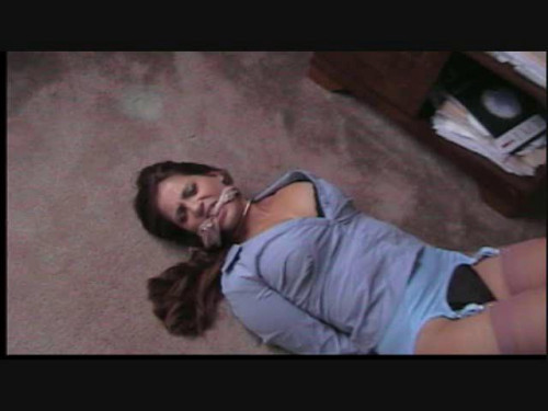 Vivian ireene pierce lead secretary receives restraint bondage
