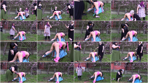 Happy Spring – Outdoor Screaming Sissy Moresome – Bubble Butt Fucking