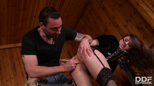 Carpenters Revenge Submissive Client Tied Up For Anal