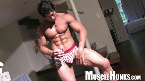 MuscleHunks – Chad Harley – Pretty Muscle Boy Gay Solo
