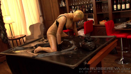Rubber Sissy Anal Slut - Part 4 - Full HD 1080p Femdom and Strapon