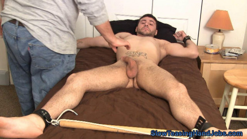 Sexy Nick Sucked and Stroked Gay BDSM