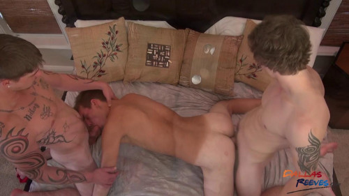 Donny, Cage and Broc Three Way Gay Clips