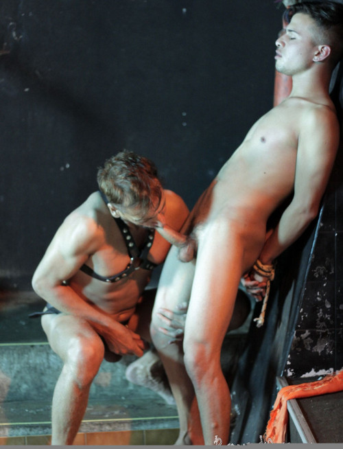 Blindfolded And Roped Boy Lured Into Gay Bdsm Play Gay BDSM