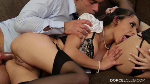First Anal Scene For Sophia Laure Featuring Manon Martin