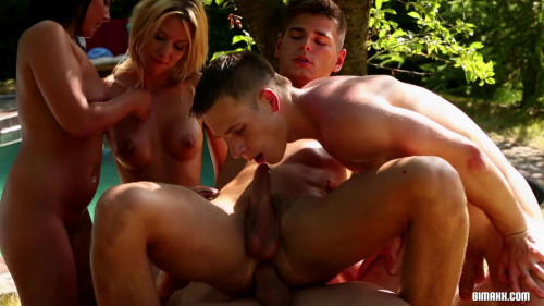 Bring A Chick Into The Mix And Bi It Up! Orgies
