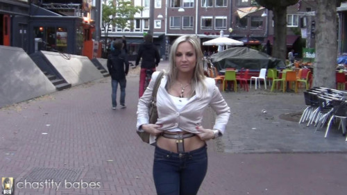 Belted in public