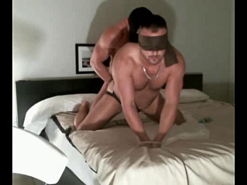Rawfuck muscle pup beef fastened n blindfolded serves muscle slavemaster dong